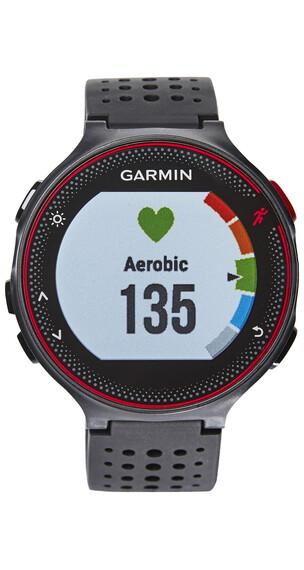 Garmin Forerunner 235 WHR - Cardiofréquencemètre - rouge/noir